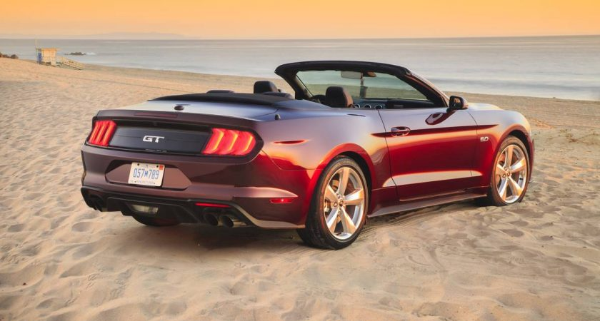 2018 Mustang Convertible: A Driving Experience