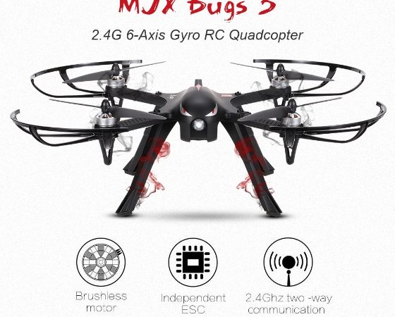 Learn To Use A Drone Like A Pro With The Mjx Bugs 3