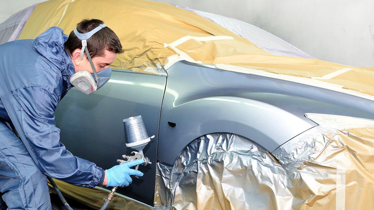 car paint mixing service