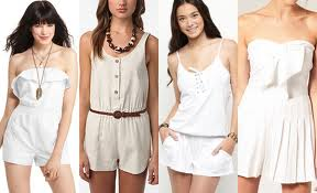 Playful Summer Fashions With Playsuits